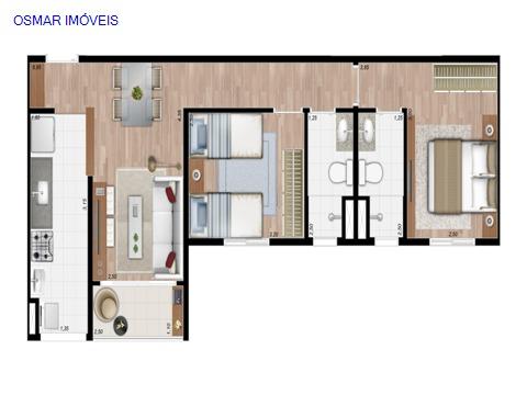 Apartamento  Morumbi  Paulinia