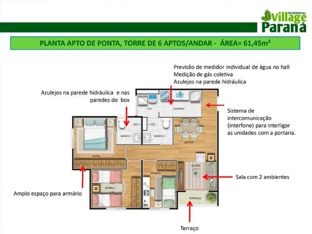 Apartamento à Venda - Atuba