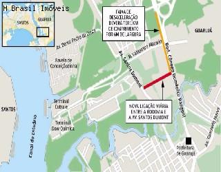 comprar área no bairro cubatão na cidade de cubatão-sp