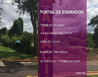 Comprar, terreno no bairro portal de dourados na cidade de dourados-ms
