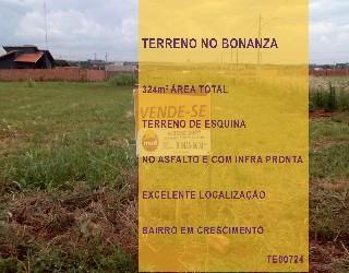 Comprar, terreno no bairro residencial bonanza na cidade de dourados-ms