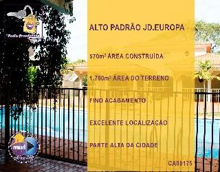 Comprar, casa no bairro jardim europa na cidade de dourados-ms