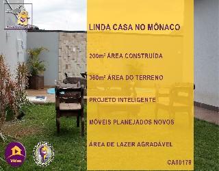 Comprar, casa no bairro jardim mônaco na cidade de dourados-ms