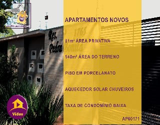 Comprar, apartamento no bairro jardim tropical na cidade de dourados-ms