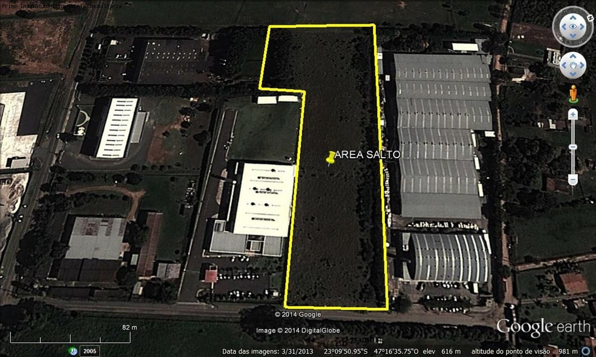 comprar ou alugar area no bairro 17.600m²   distrito industrial de salto na cidade de salto-sp