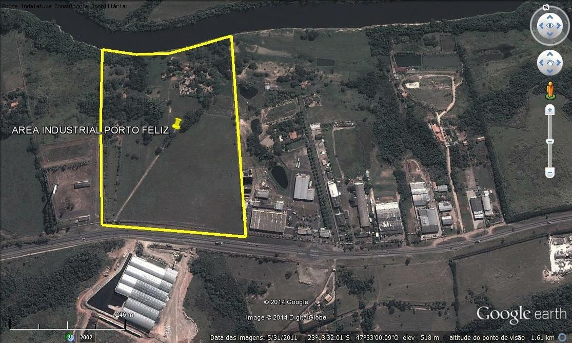 comprar ou alugar area no bairro 123.000m² distrito industrial porto feliz na cidade de porto feliz-sp