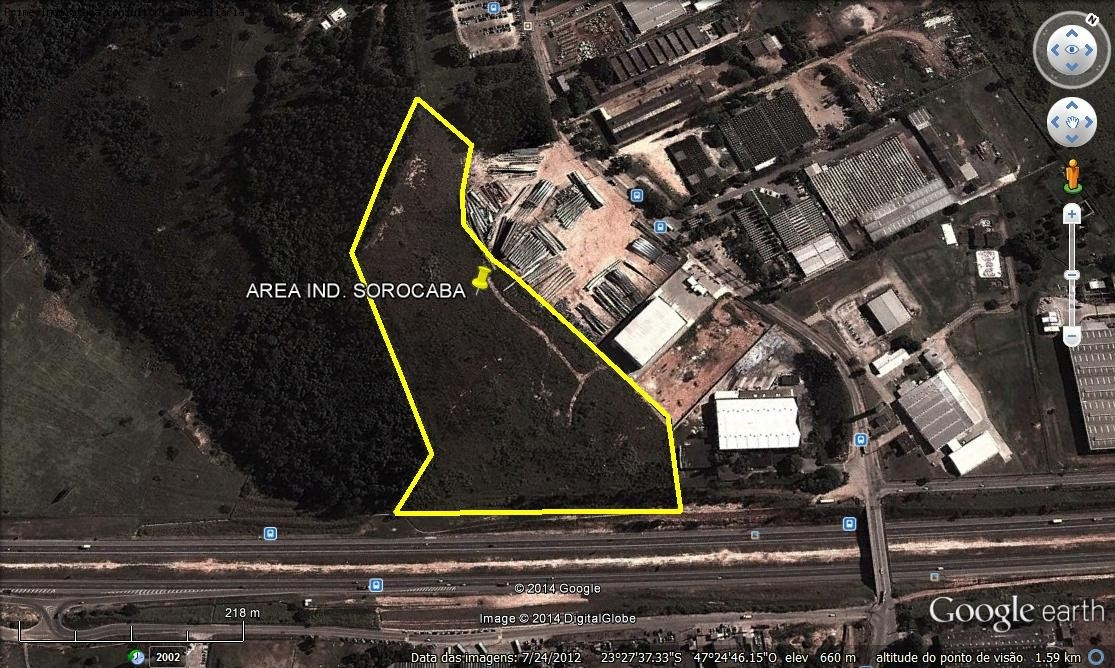 comprar ou alugar area no bairro distrito industrial sorocaba na cidade de sorocaba-sp