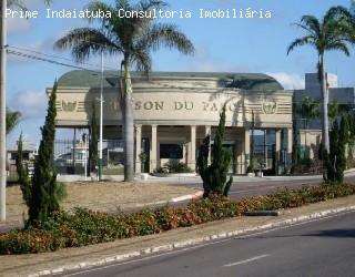 comprar ou alugar terreno no bairro condominio maison du parc na cidade de indaiatuba-sp