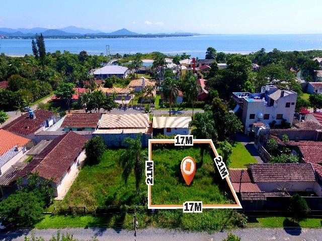 comprar ou alugar terreno no bairro balneário do capri na cidade de são francisco do sul-sc