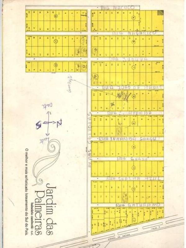 Mapa Jardim das Palmeiras