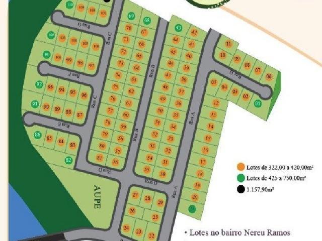 comprar ou alugar terreno no bairro nereu ramos na cidade de jaraguá do sul-sc