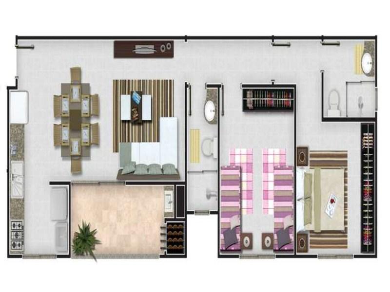 09- planta apartamento