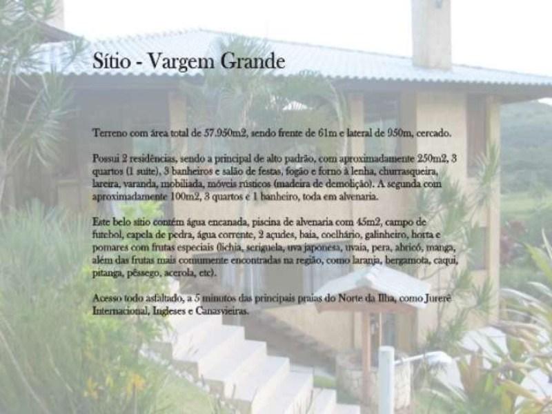 _Sitio Vargem Grande_descritiv