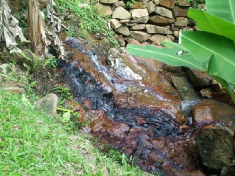 agua corrente