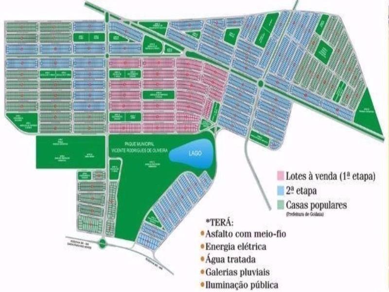 comprar ou alugar terreno no bairro residencial buena vista iii na cidade de goiania-go