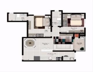 comprar ou alugar apartamento no bairro nações na cidade de balneario camboriu-sc