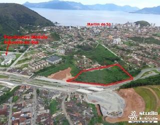 Comprar, area no bairro martim de sá na cidade de caraguatatuba-sp