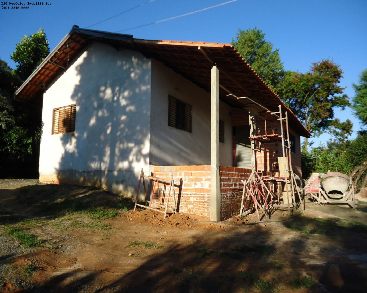 Casa em ampliação