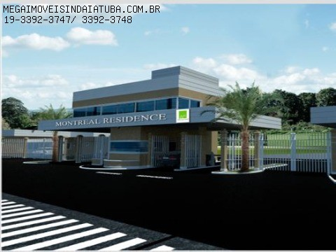 comprar ou alugar terreno no bairro cond montreal residence na cidade de indaiatuba-sp
