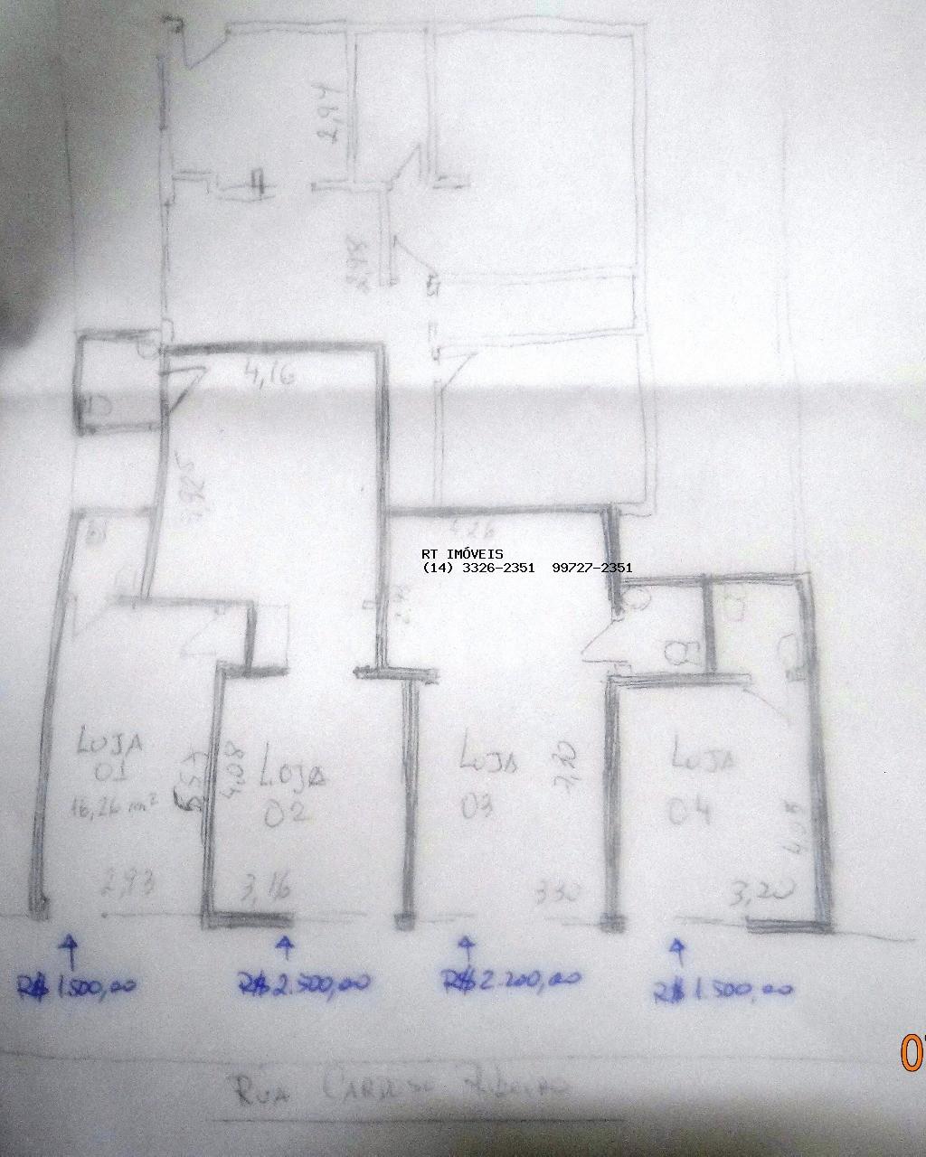 opções para tamanho de sala